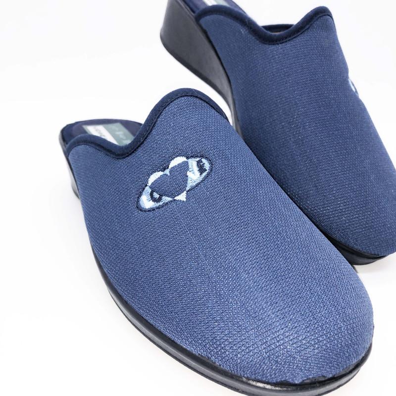 disfruta de un gran descuento mejor mayorista cupón de descuento Zapatilla de casa descalza - cuña - azul marino