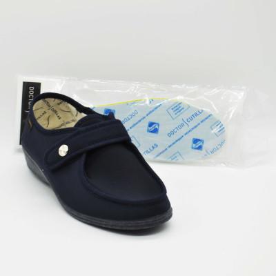 Zapato cómodo licra - marino