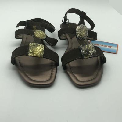 Sandalia abierta - kaki