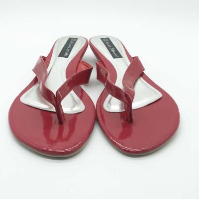 Sandalia de dedo - roja