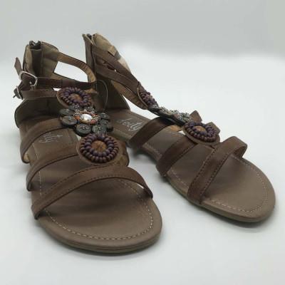 Sandalia romana - cuero