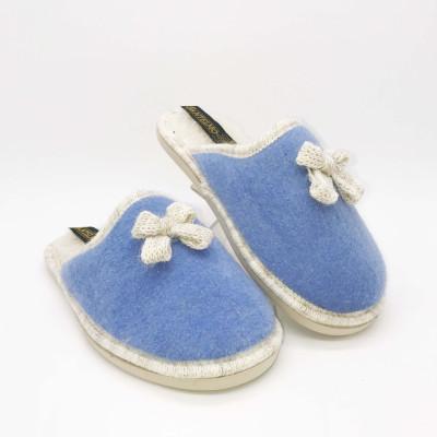 Zapatilla de casa descalza