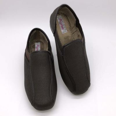 Zapatilla de calle - marrón